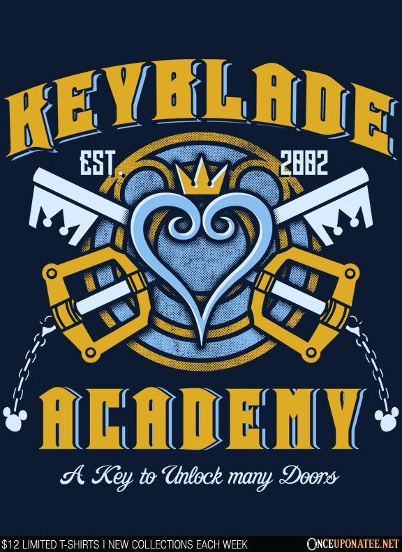 Once Upon a Tee: Keyblade Academy