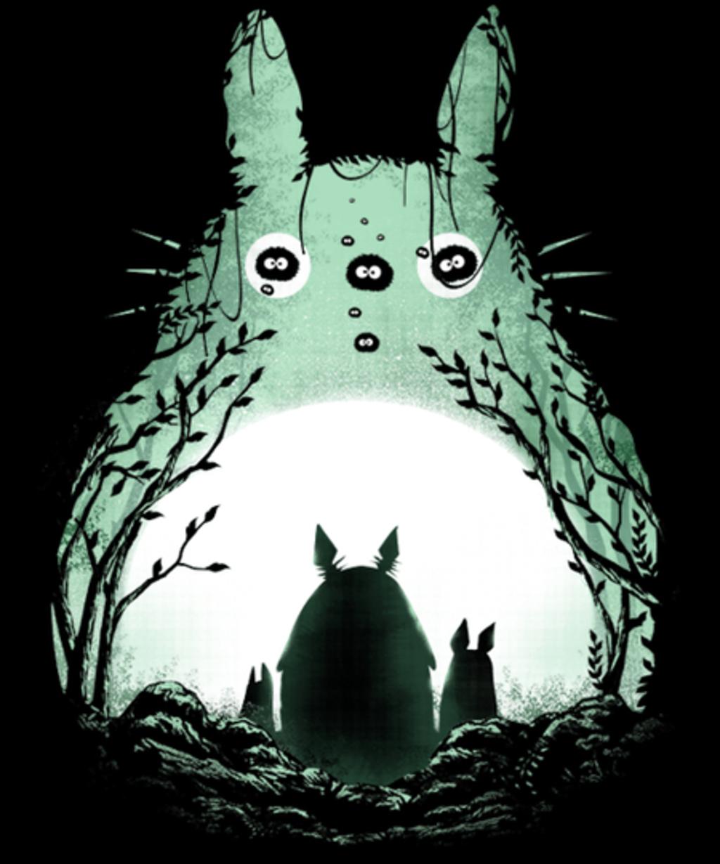 Qwertee: Midnight Totoro