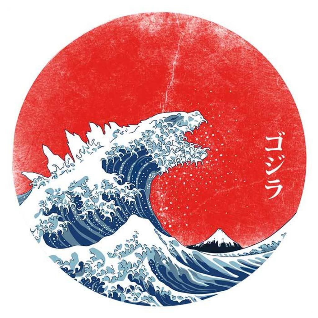 Once Upon a Tee: Hokusai Gojira