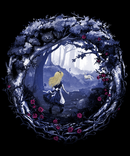 Qwertee: Follow the Rabbit