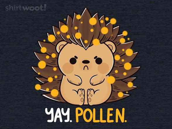 Woot!: Allergic Hedgehog