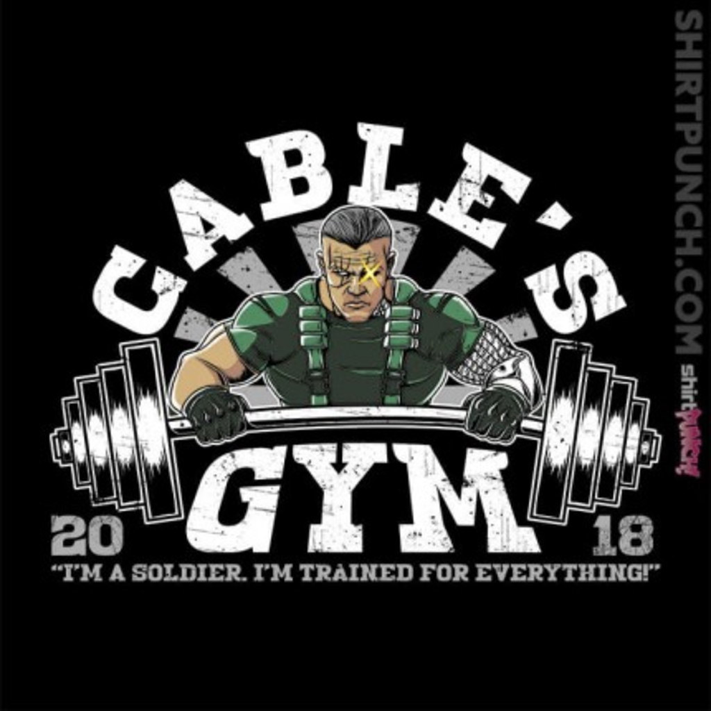 ShirtPunch: Cable's Gym