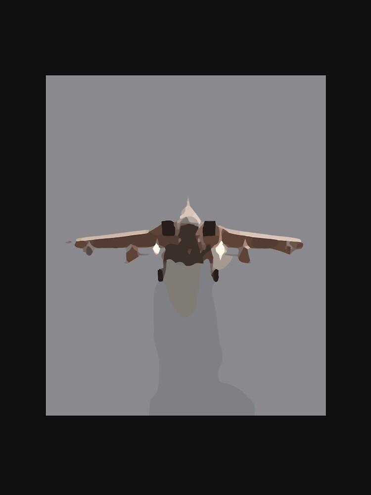 RedBubble: Soaring jet fighter