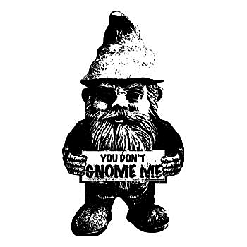 BustedTees: You Don't Gnome Me Hoodie