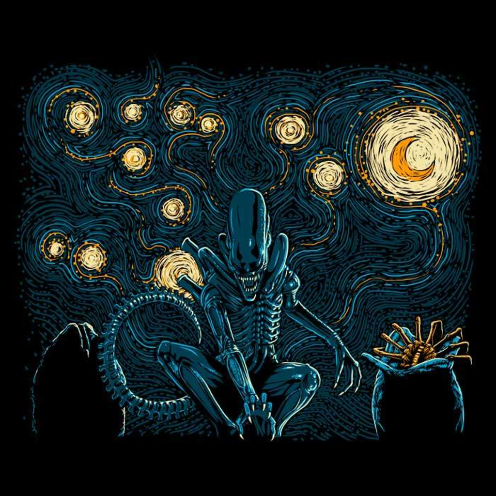 Once Upon a Tee: Starry Xenomorph