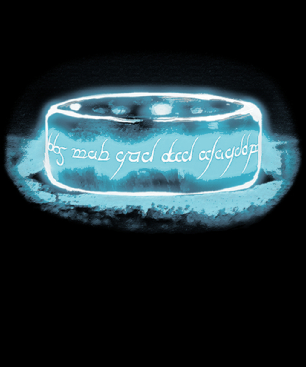Qwertee: Shadow of The Ring