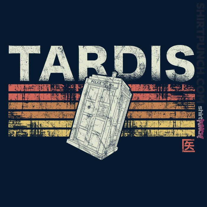 ShirtPunch: Retro Tardis
