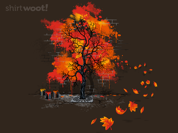 Woot!: Forever Fall Crewneck Sweatshirt - $16.00 + $5 standard shipping