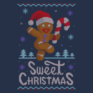 Pop-Up Tee: Ginger Bread Sweater