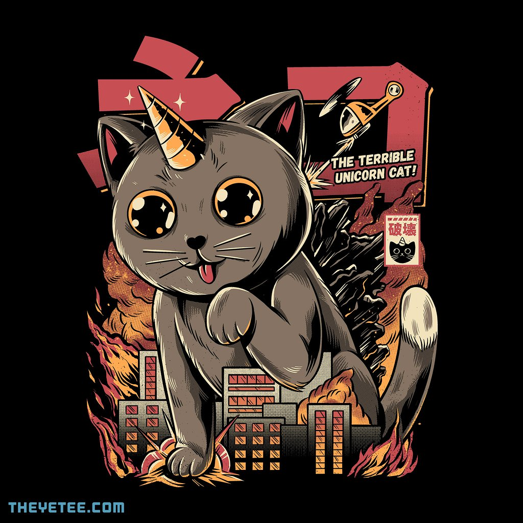 The Yetee: Catzilla by ilustrata