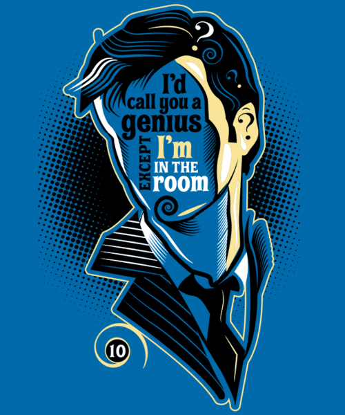 Qwertee: Who Says What #10
