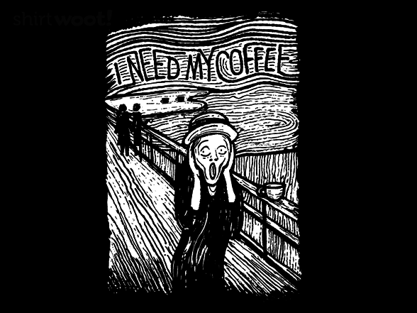 Woot!: Scream for Coffee - $8.00 + $5 standard shipping