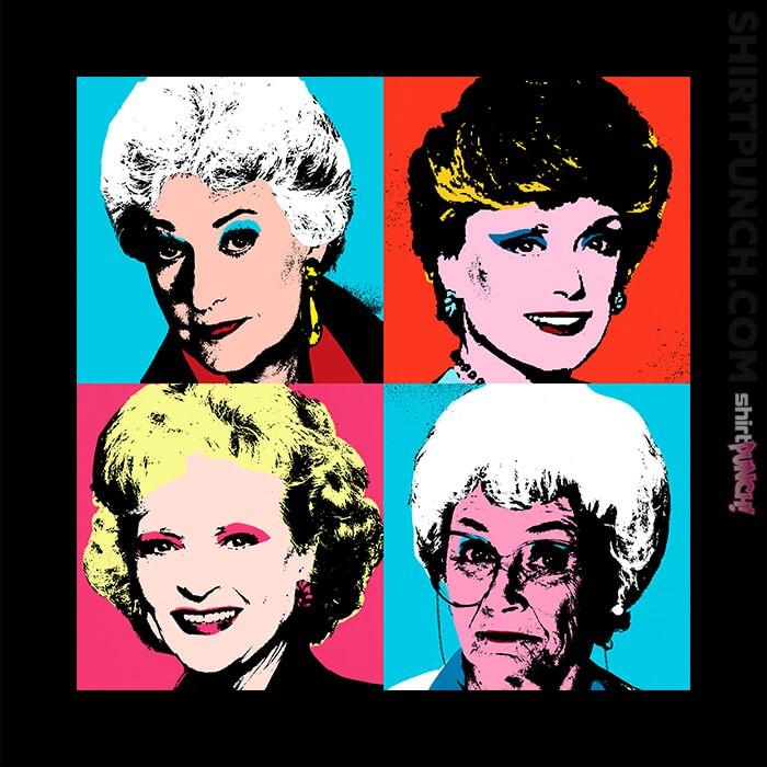 ShirtPunch: Warhol Girls