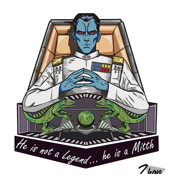RedBubble: He is a Mitth