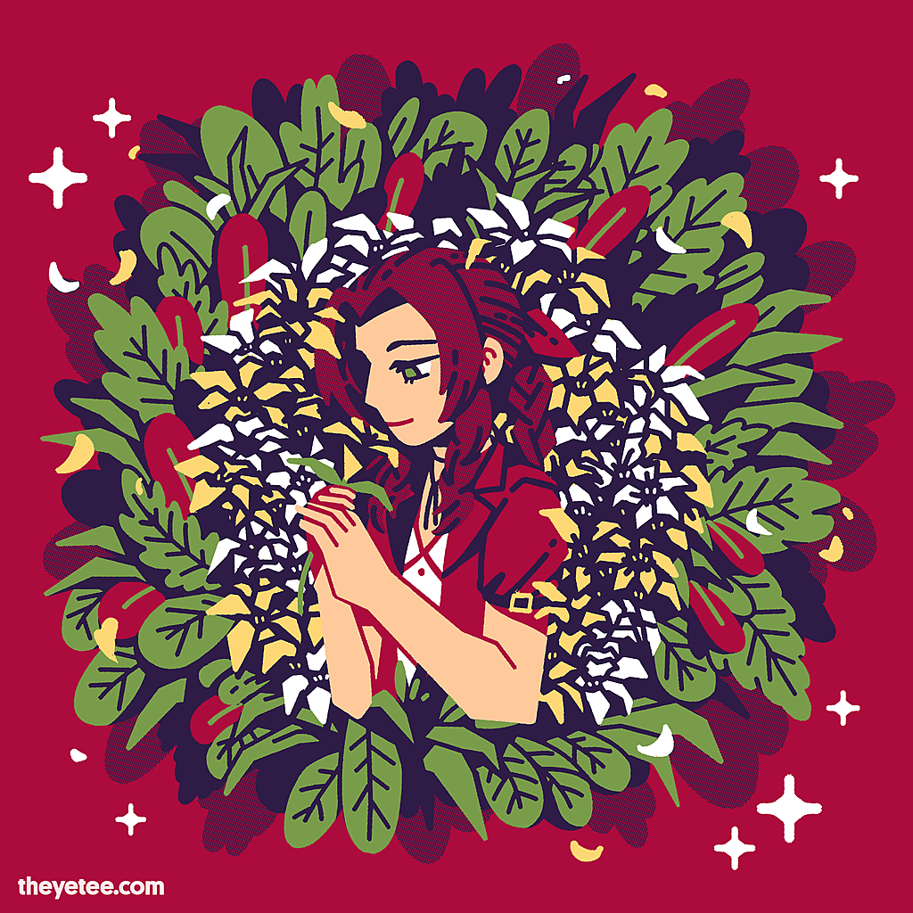 The Yetee: Flowers for the flower girl