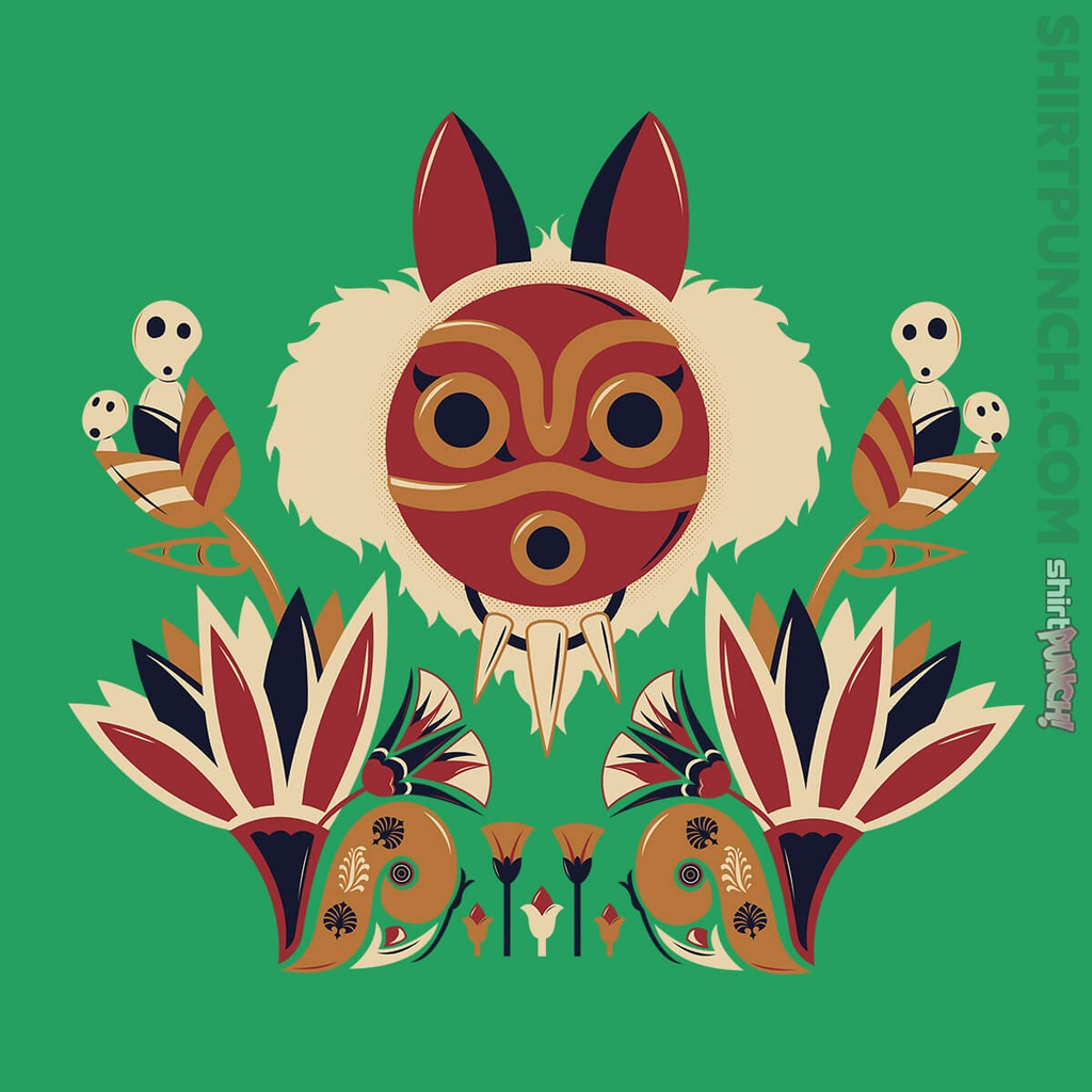 ShirtPunch: Mononoke Deco