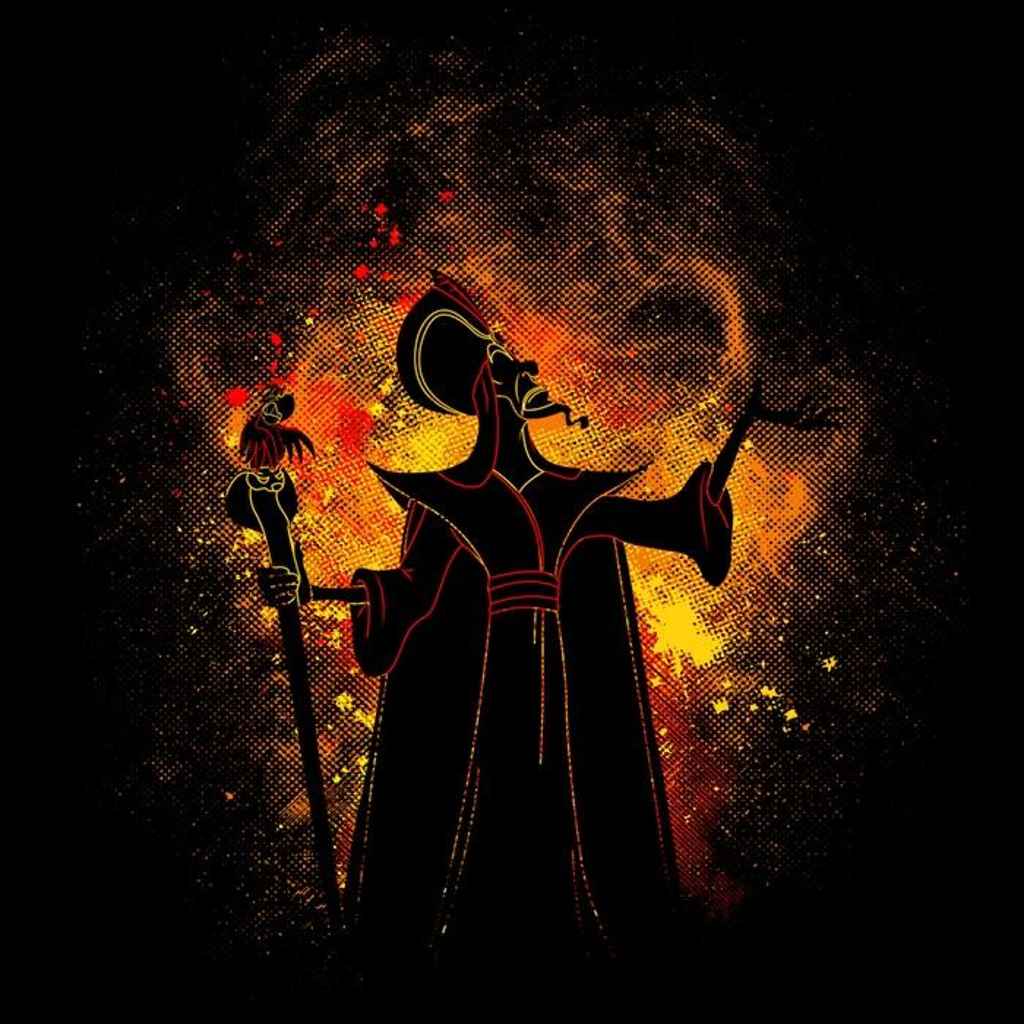 Once Upon a Tee: Grand Vizier Art