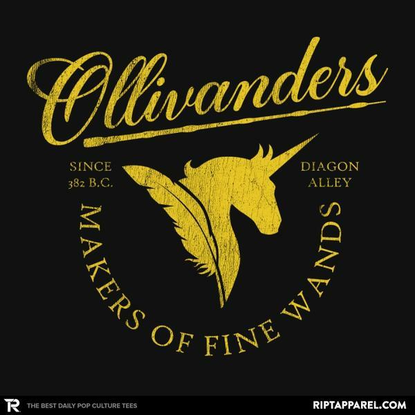 Ript: Ollivanders Wand Shop