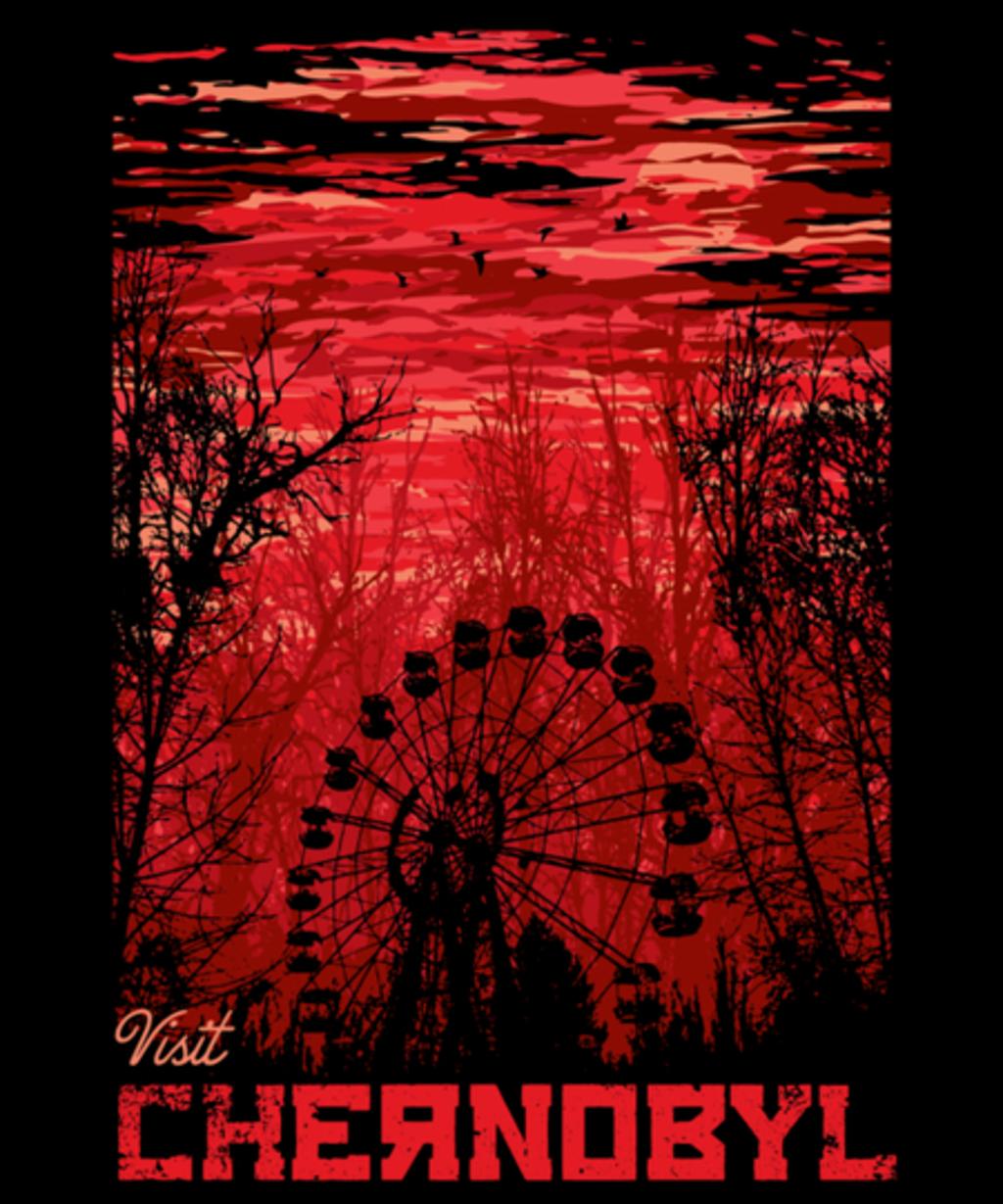 Qwertee: Visit Chernobyl