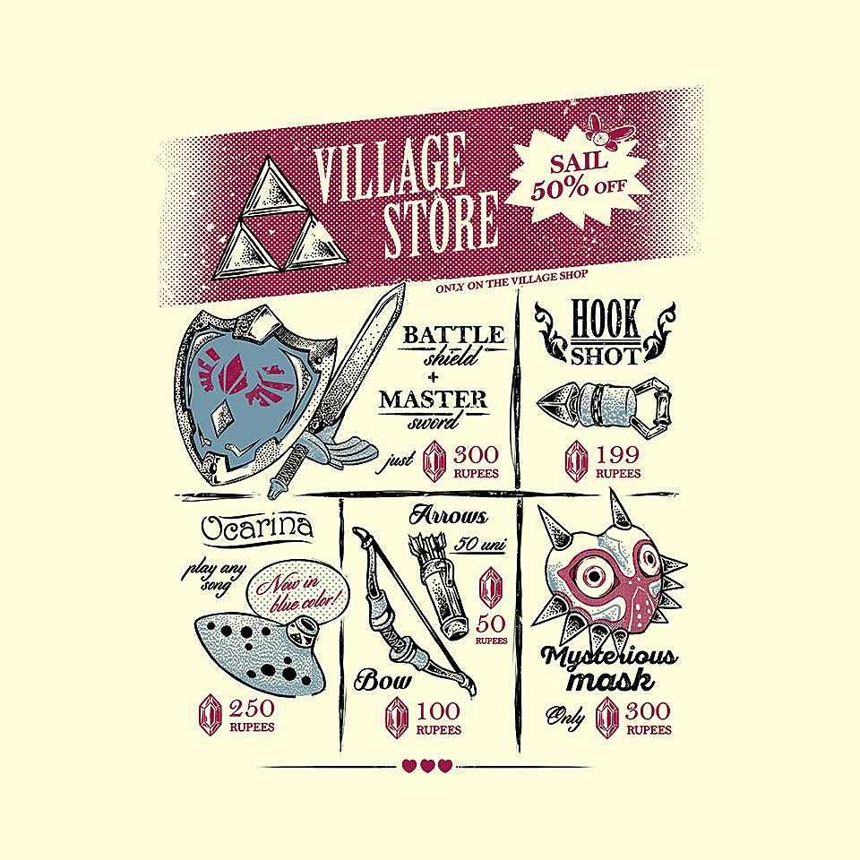 TeeFury: Village Store