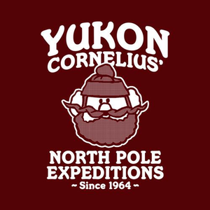 Five Finger Tees: Yukon Cornelius' North Pole Expeditions T-Shirt