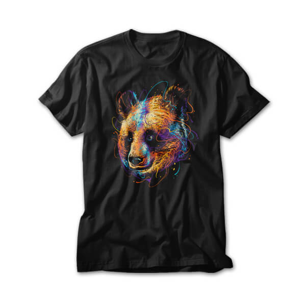 OtherTees: Colorful Panda