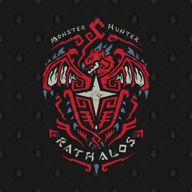 TeePublic: Rathalos - Monster Hunter