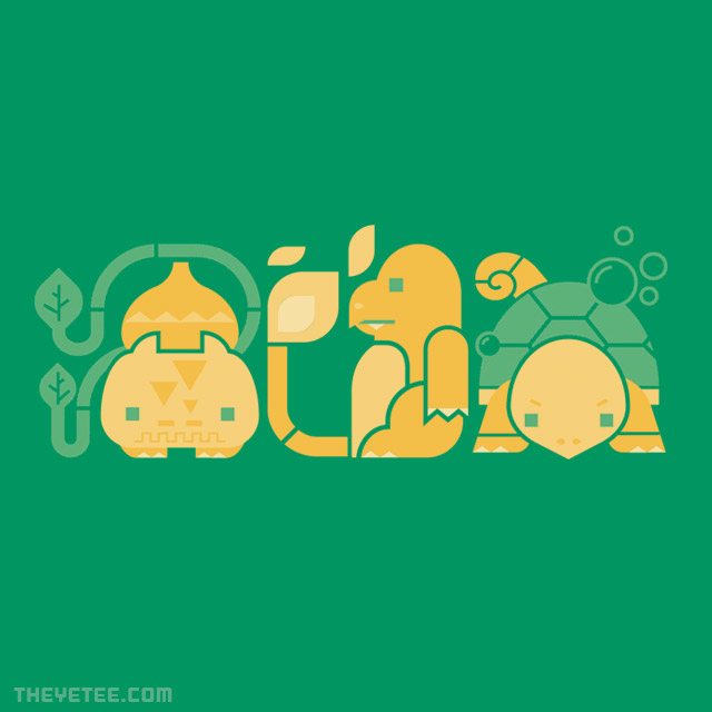 The Yetee: Choose Your Starter