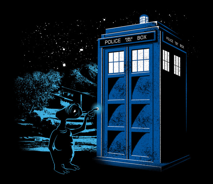 TeeFury: Phone Home