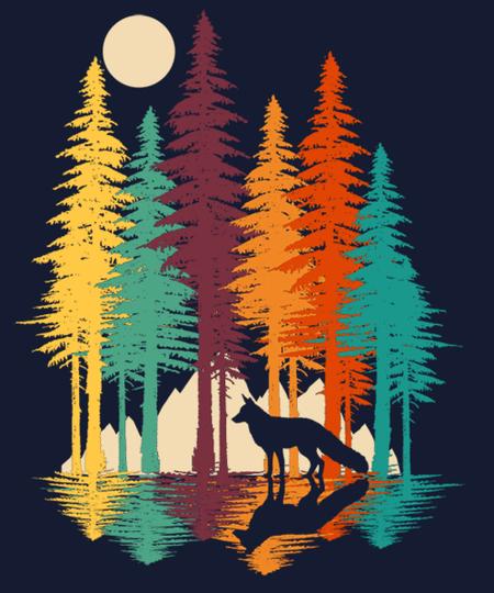 Qwertee: Forest Fox