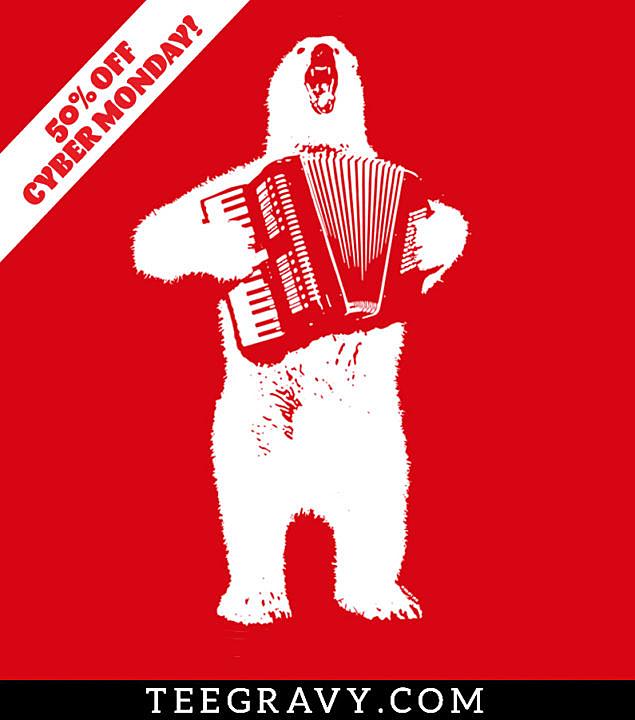 Tee Gravy: Polar Polka Cyber Monday