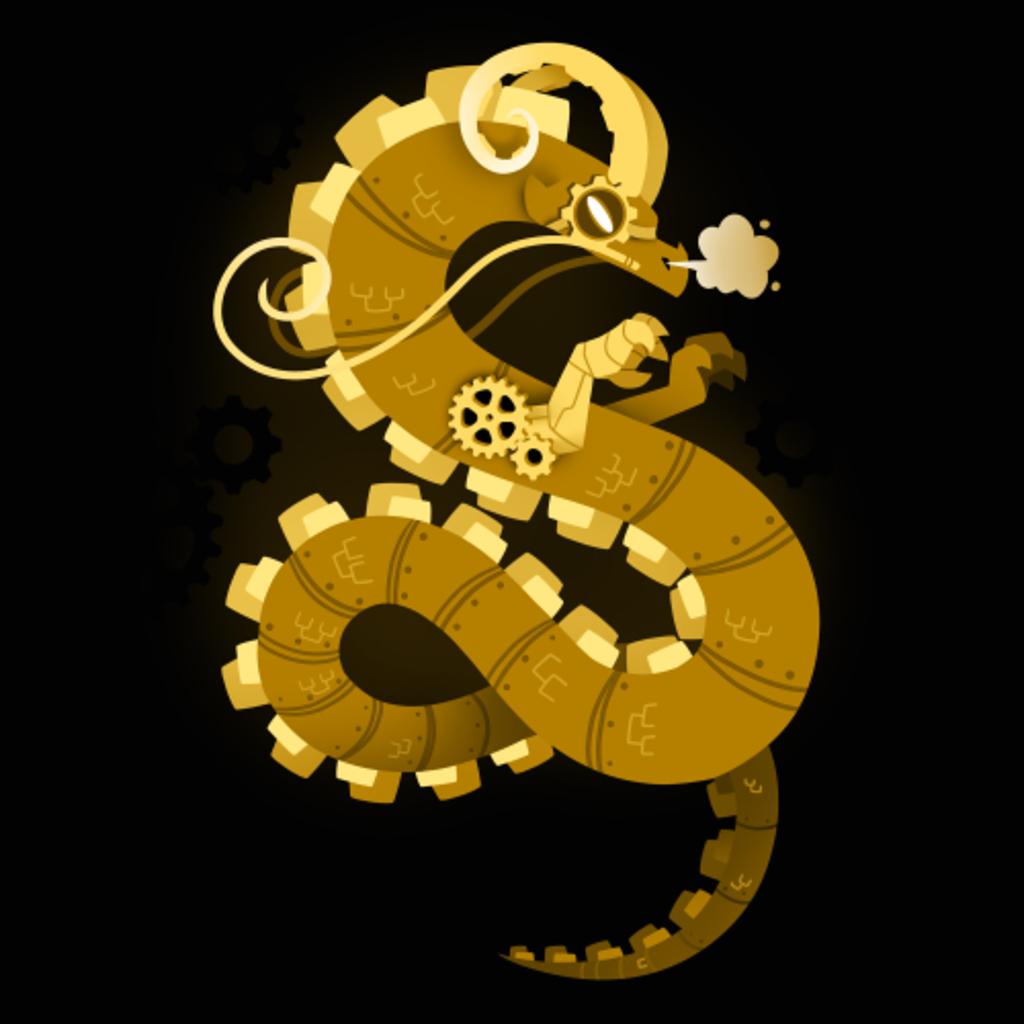 TeeTurtle: Steampunk Dragon