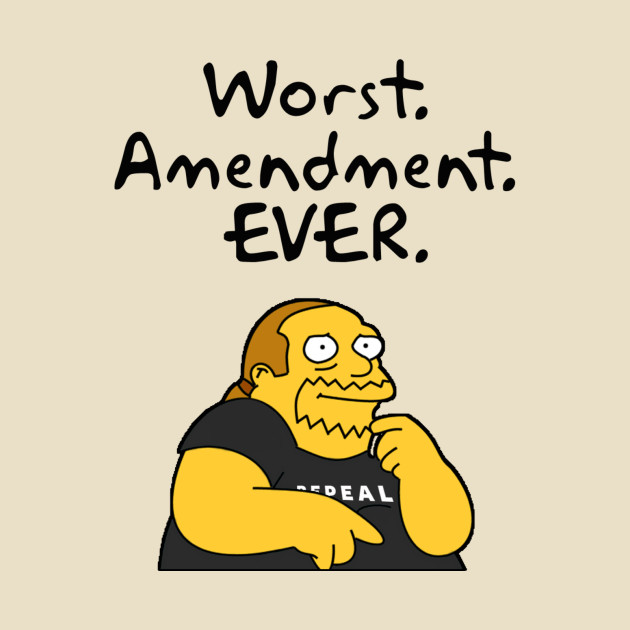 TeePublic: Worst Amendment Ever