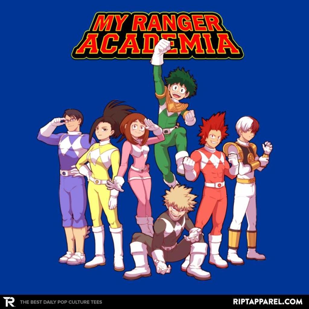 Ript: My Ranger Academia