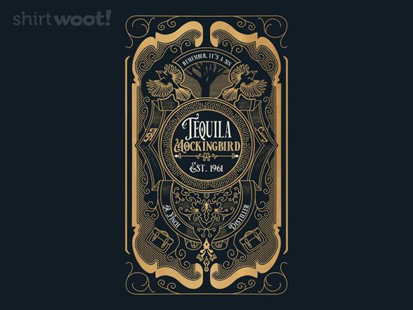 Woot!: Tequila Mockingbird Bottle Label