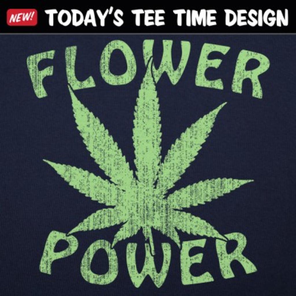 6 Dollar Shirts: Flower Power