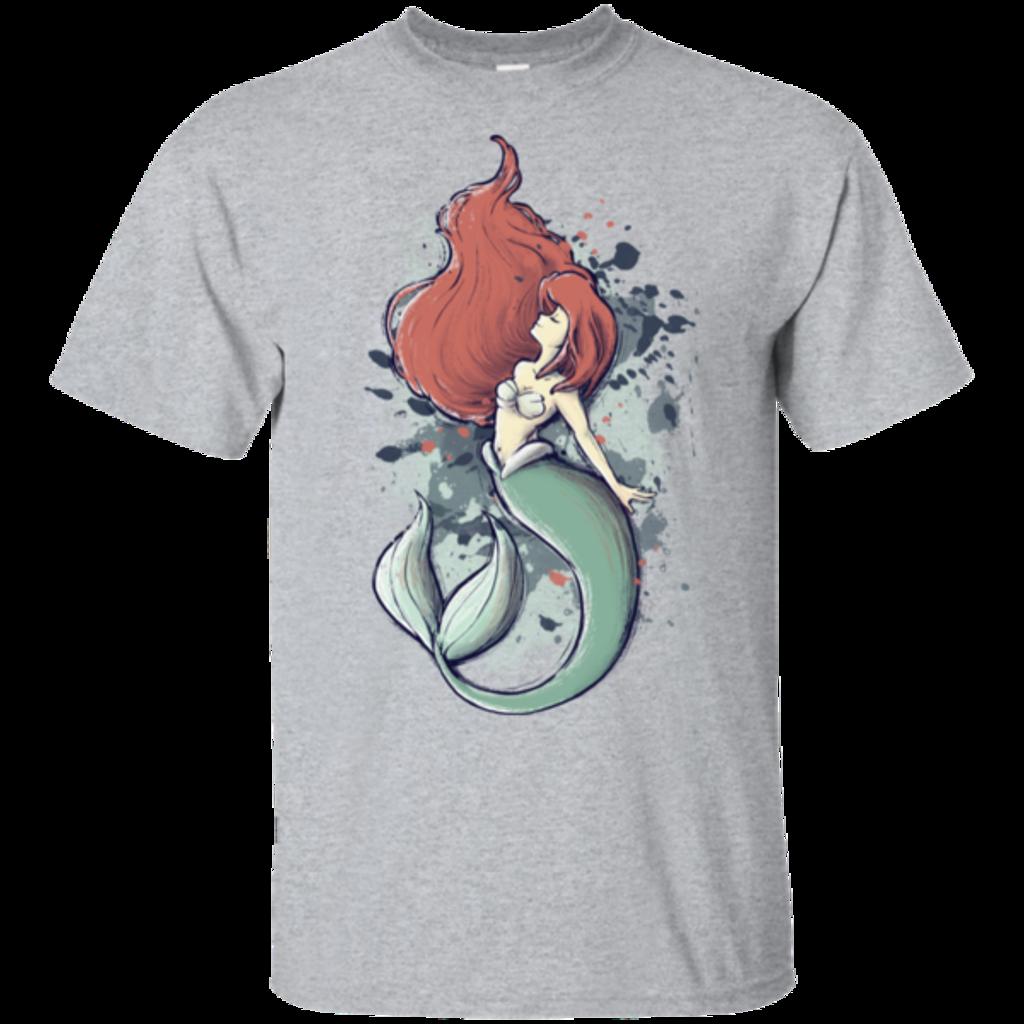 Pop-Up Tee: The Mermaid