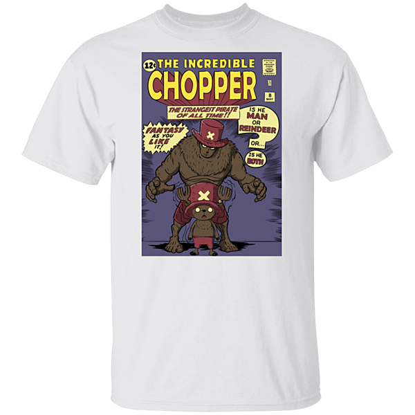 Pop-Up Tee: The Incredible Chopper