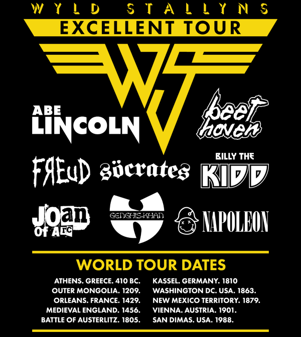 teeVillain: Excellent Tour