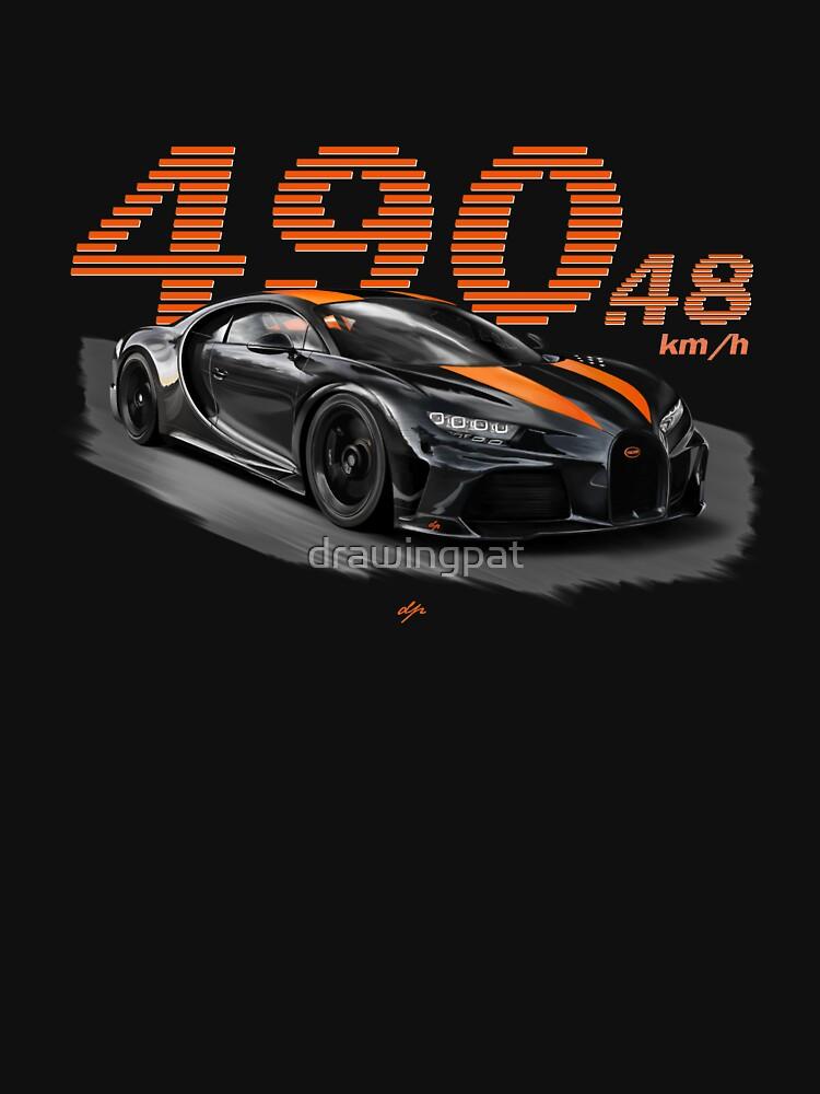 RedBubble: Bugatti Chiron Supersport 300+ Design