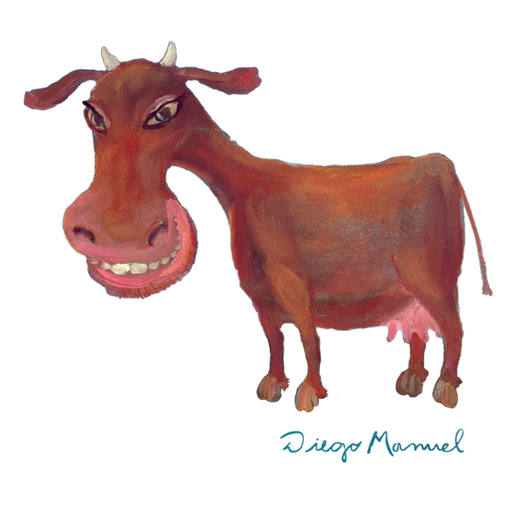 NeatoShop: Brown cow