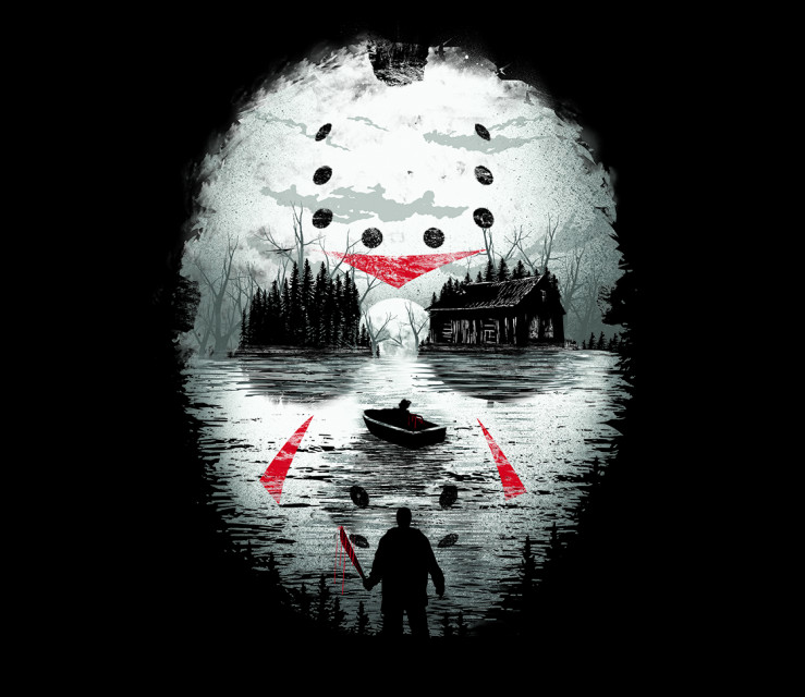 TeeFury: Friday Night Terror