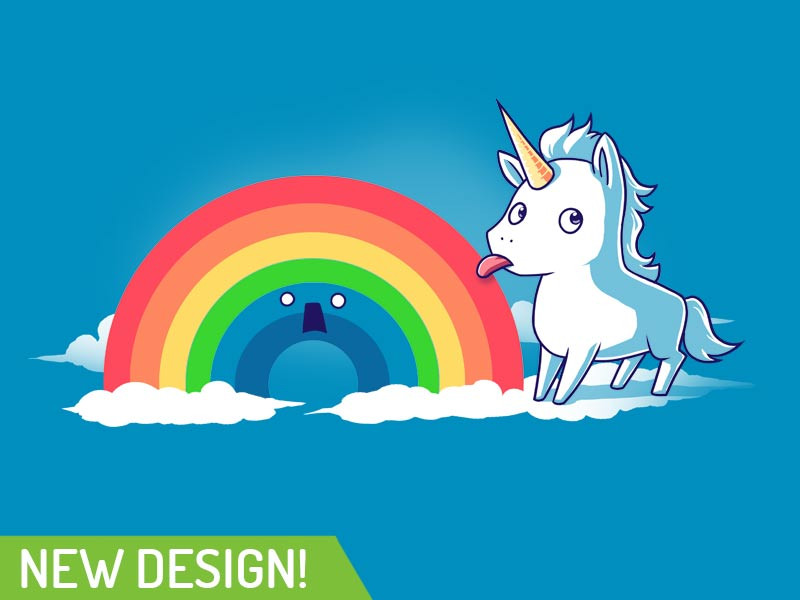 TeeTurtle: Tasty Rainbow