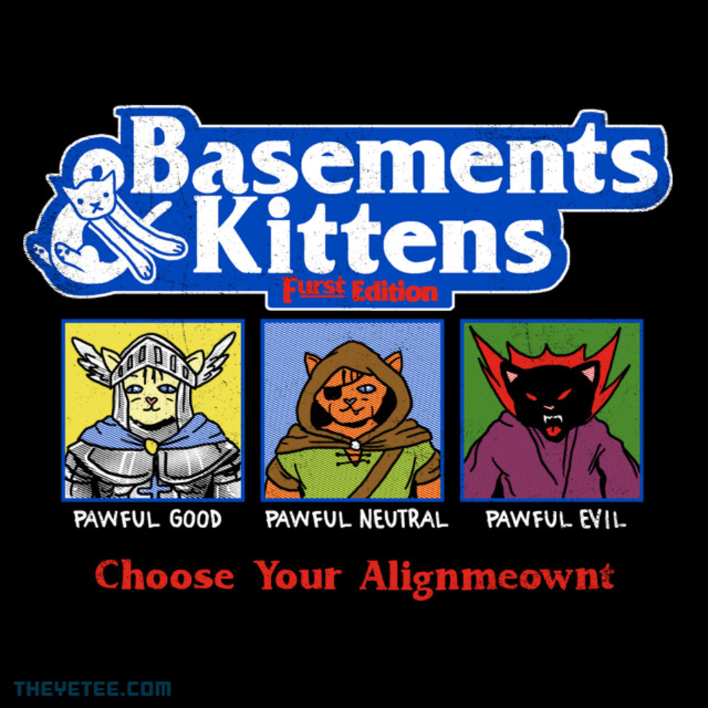 The Yetee: Basements & Kittens