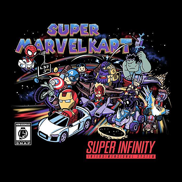 Once Upon a Tee: Marvelous Kart