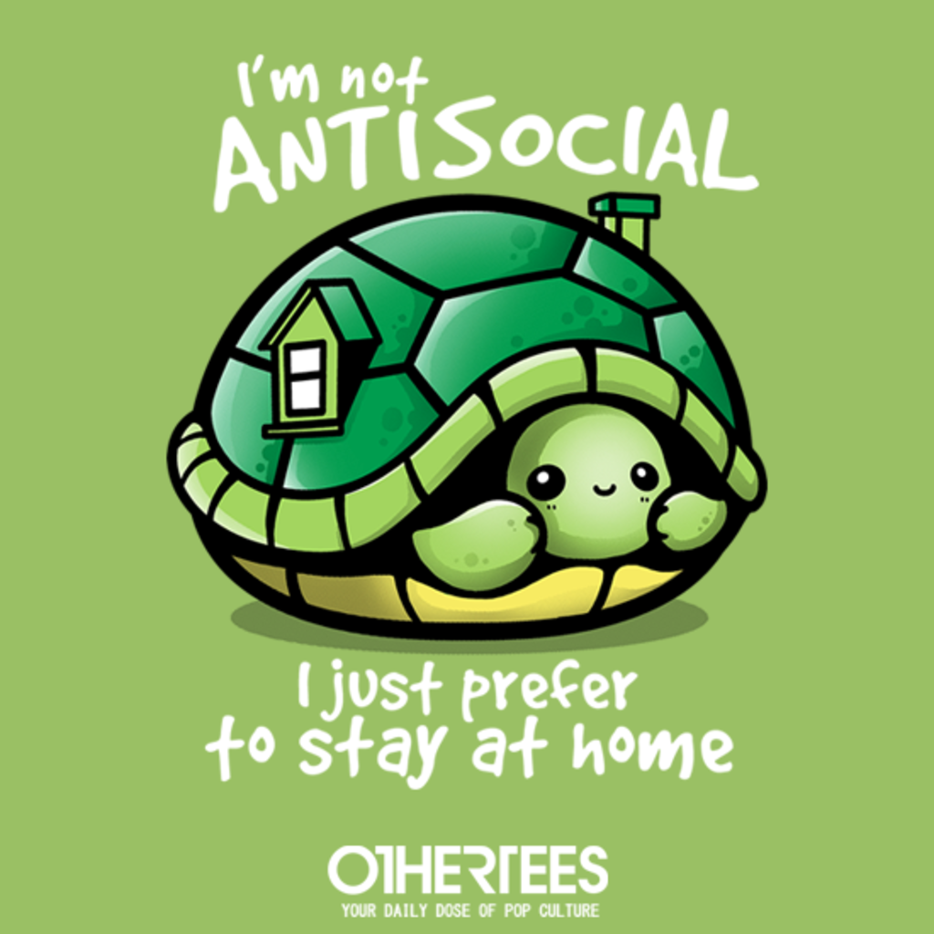 OtherTees: Antisocial turtle