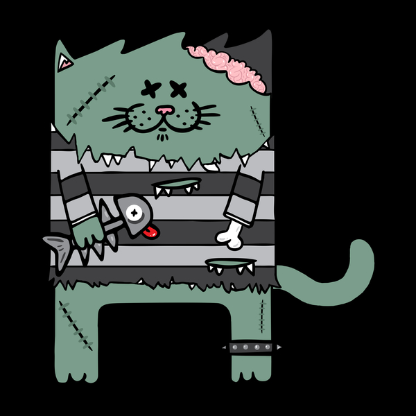 NeatoShop: Zombie cat
