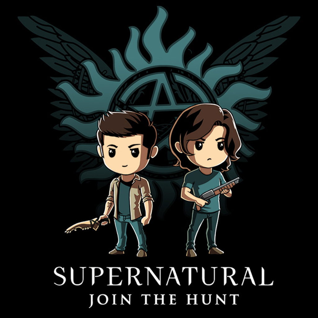 TeeTurtle: Supernatural