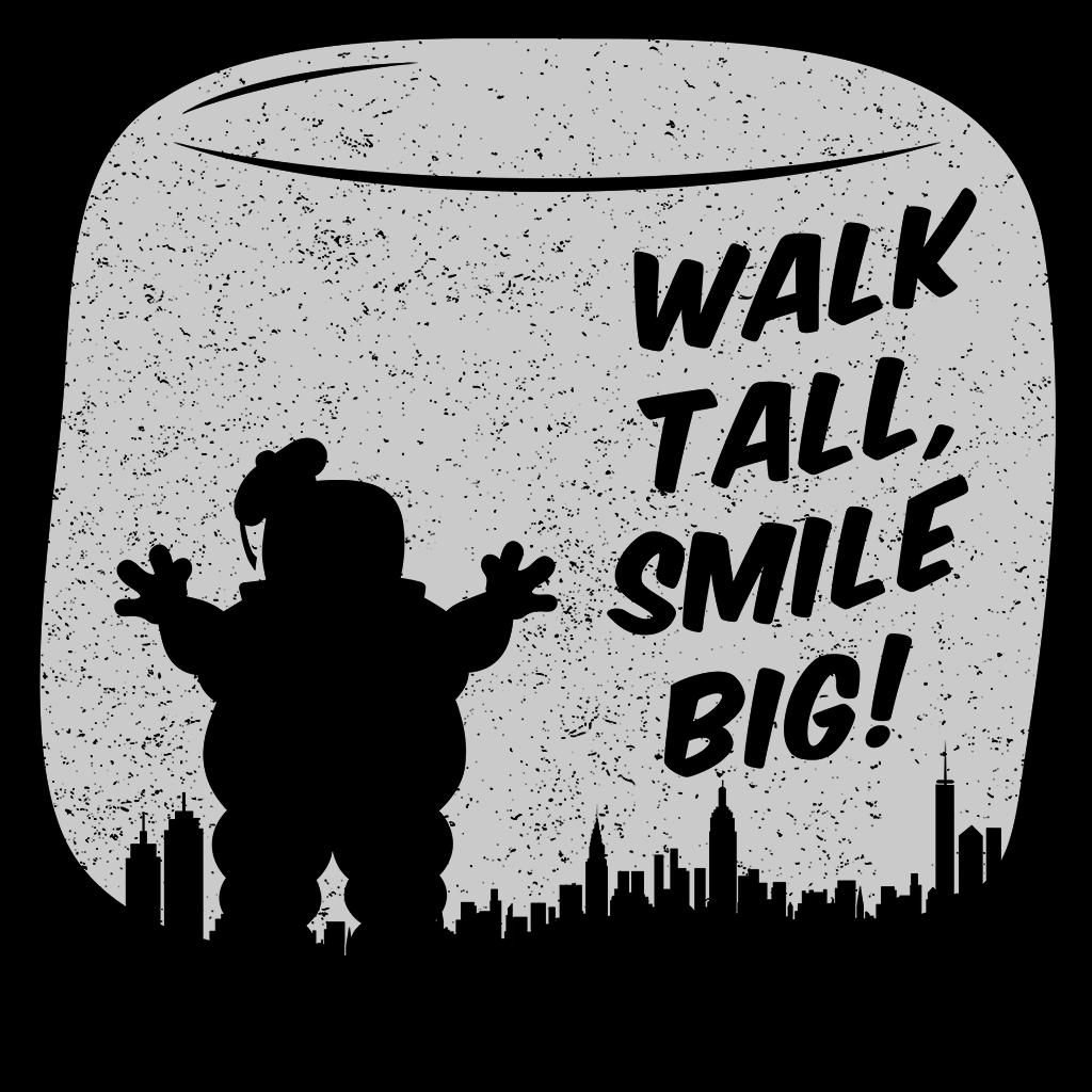 Pop-Up Tee: Walk Tall