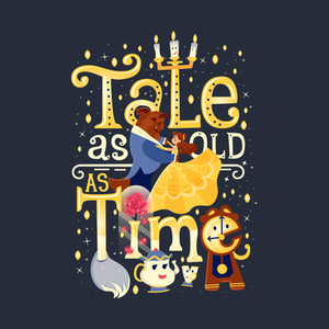 TeePublic: Tale as old as time